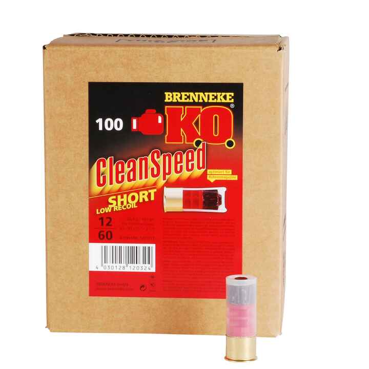 K.O. CleanSpeed Short für Repetierflinten, Brenneke