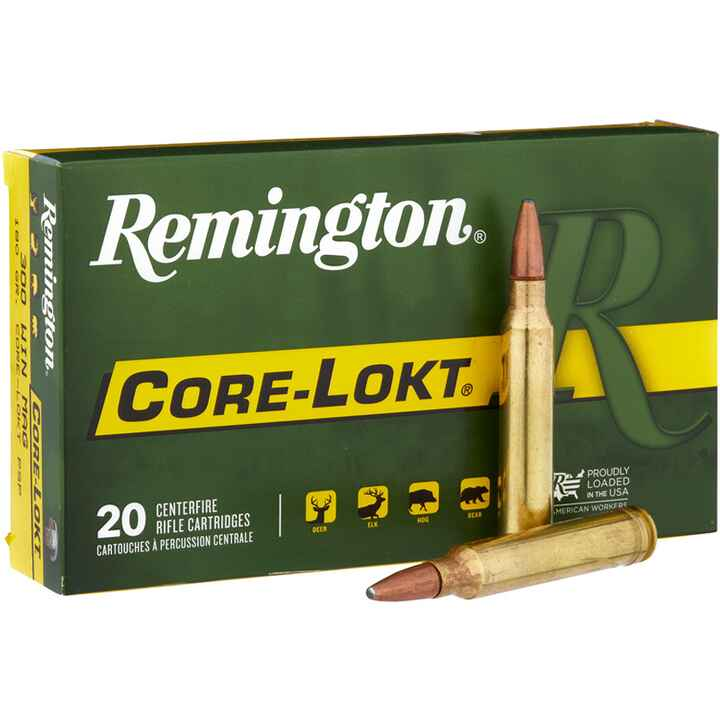 .30-06 Spr.Core-Lokt PSP 150 grs., Remington