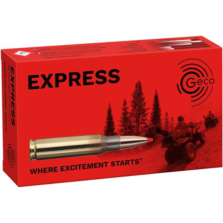 .243 Win. Express 76 grs., Geco