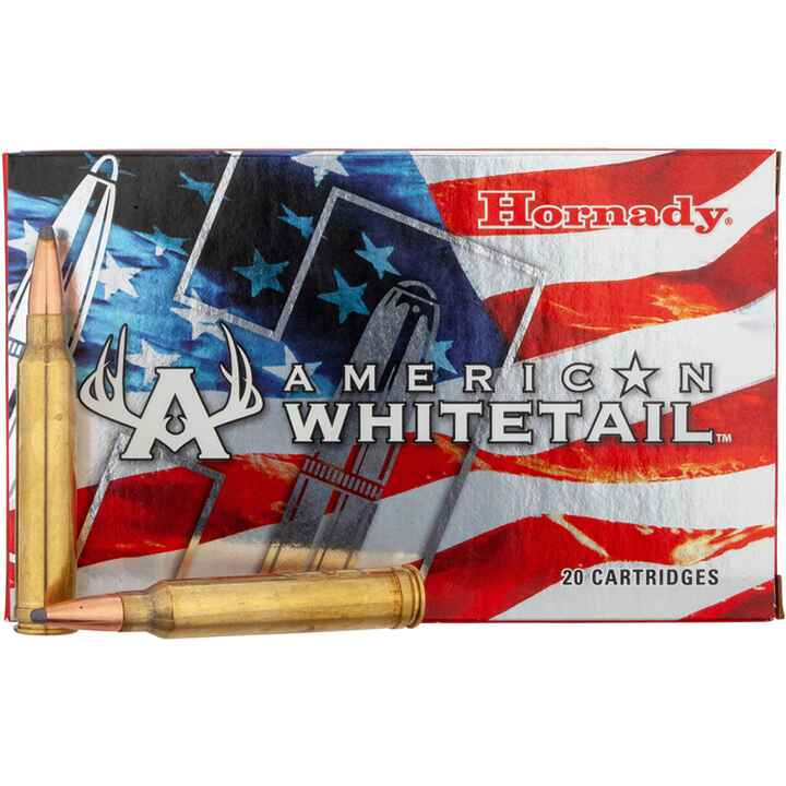 .300 Win. Mag. American Whitetail Interlock SP 150 grs., Hornady