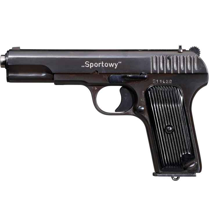 Tokarev Spotowy Pistol, Poland, selected