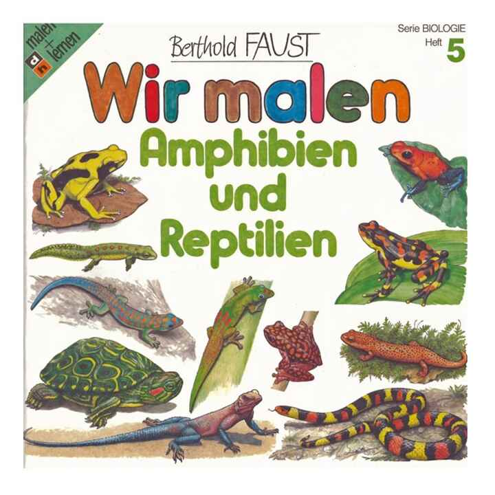 We Paint - Amphibians and Reptiles (Volume 5)