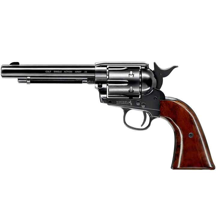 CO2-Revolver Army 45 Blue, Colt