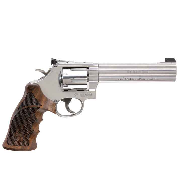 Revolver Modell 686 DeLuxe Match Master, Smith & Wesson