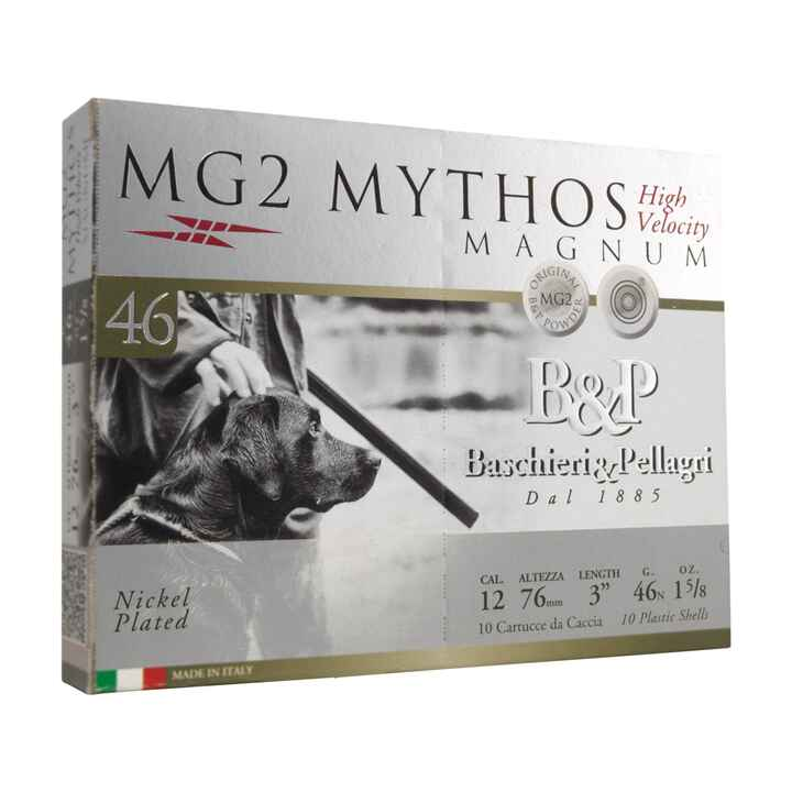 12/76 MG2 Mythos HV 2,7mm 46g, Baschieri & Pellagri