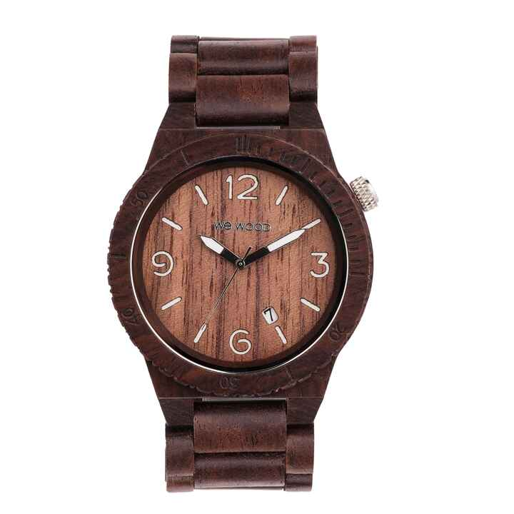 Armbanduhr Alpha Chocolate, WEWOOD