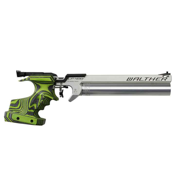 Match Luftpistole 400 Alu Green Pepper, Walther