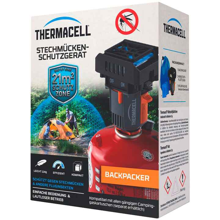 Stechmückenabwehrgerät Backpacker, THERMACELL