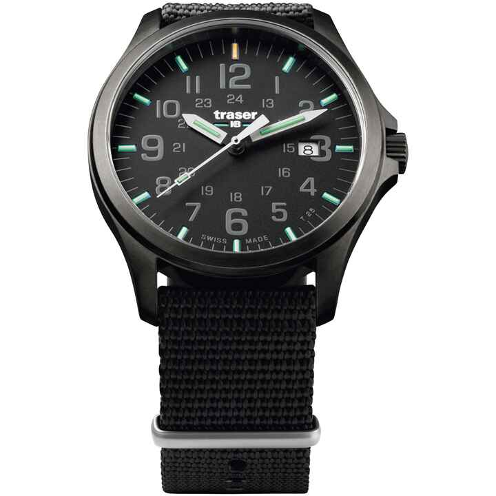 Uhr P67 Officer Pro GunMetal Black H3, Traser