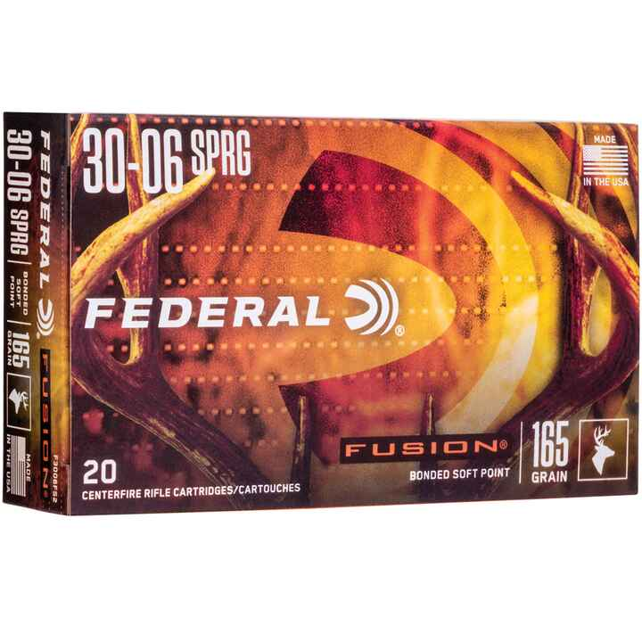 .30-06 Spr. Fusion 165 grs., Federal Ammunition