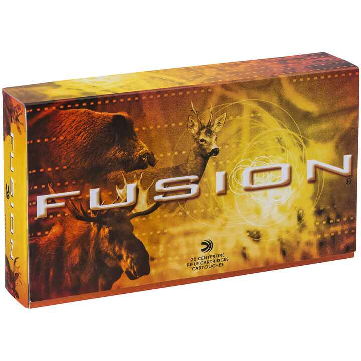 .338 Win. Mag. Fusion 225 grs., Federal Ammunition