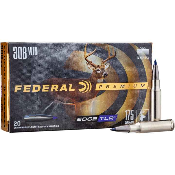 .308 Win. Edge TLR 175 grs., Federal Ammunition