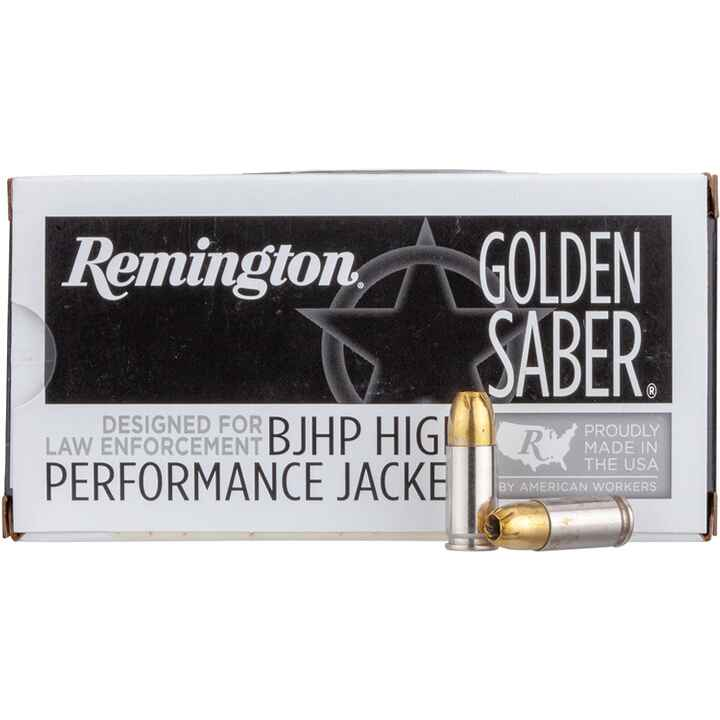 9 mm Luger Golden Saber Bonded 8,0g/124grs., Remington