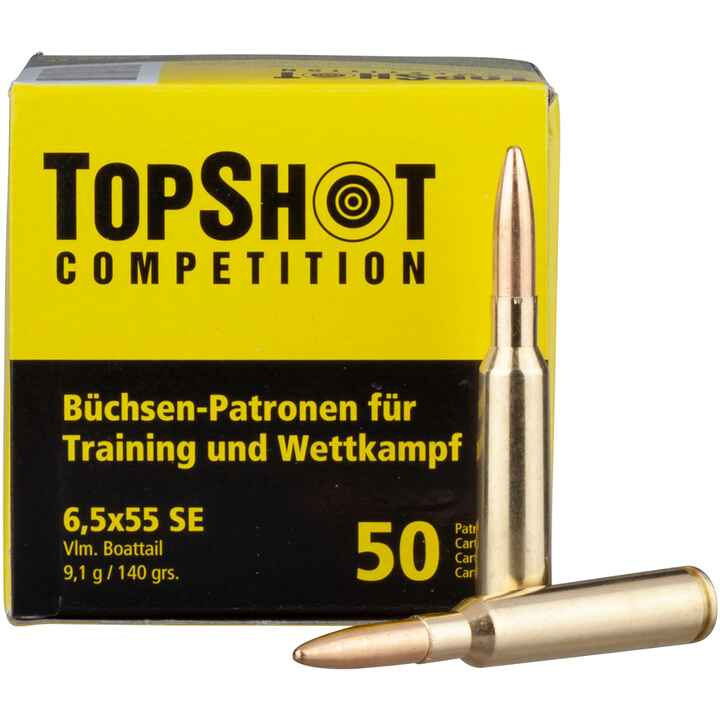 6,5x55 FMJ BT 9,1/140 g/grs., TOPSHOT Competition