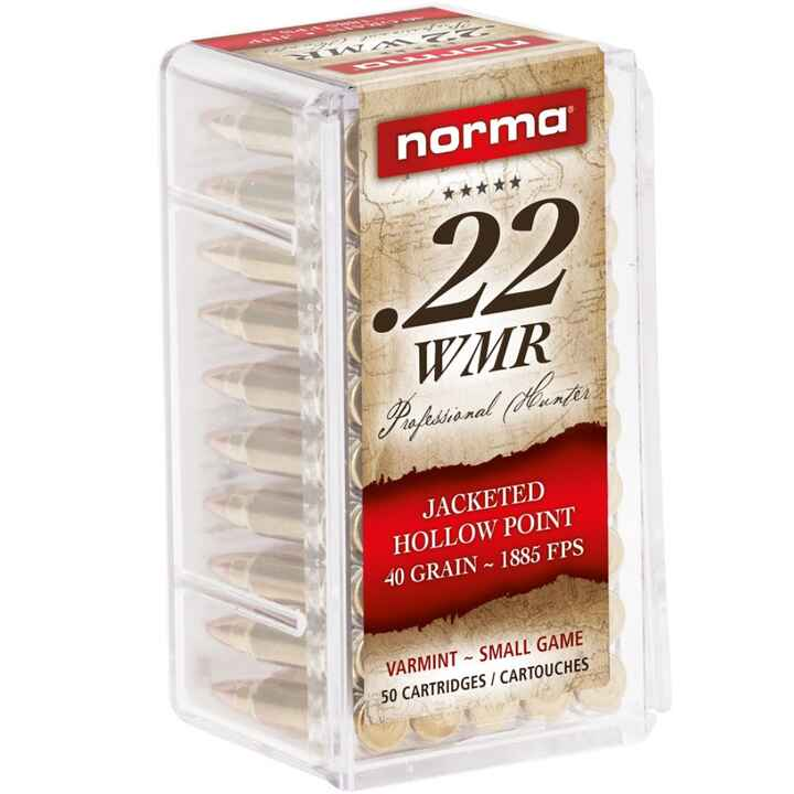.22 Win. Mag. JHP 2,6g/40grs., Norma