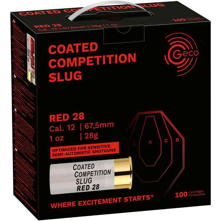 12/67,5  Competition Slug Red  28g, Geco