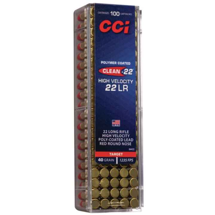 .22 lfb. Clean HV red LRN 2,6/40 g/grs., CCI