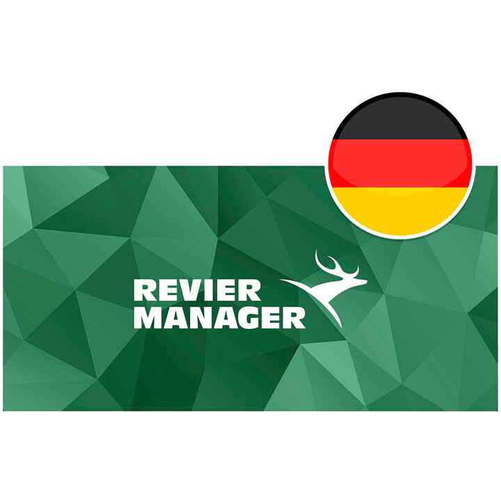 Premiumlizenz DE, Reviermanager