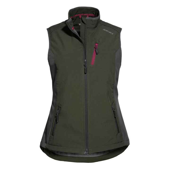 Damen Softshell-Weste, Parforce