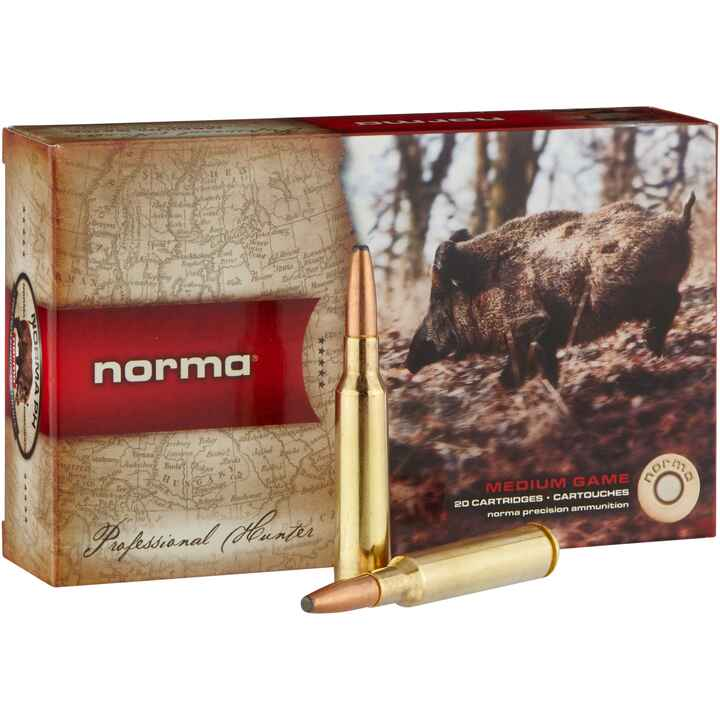 6,5x55, Oryx 156 grs., Norma