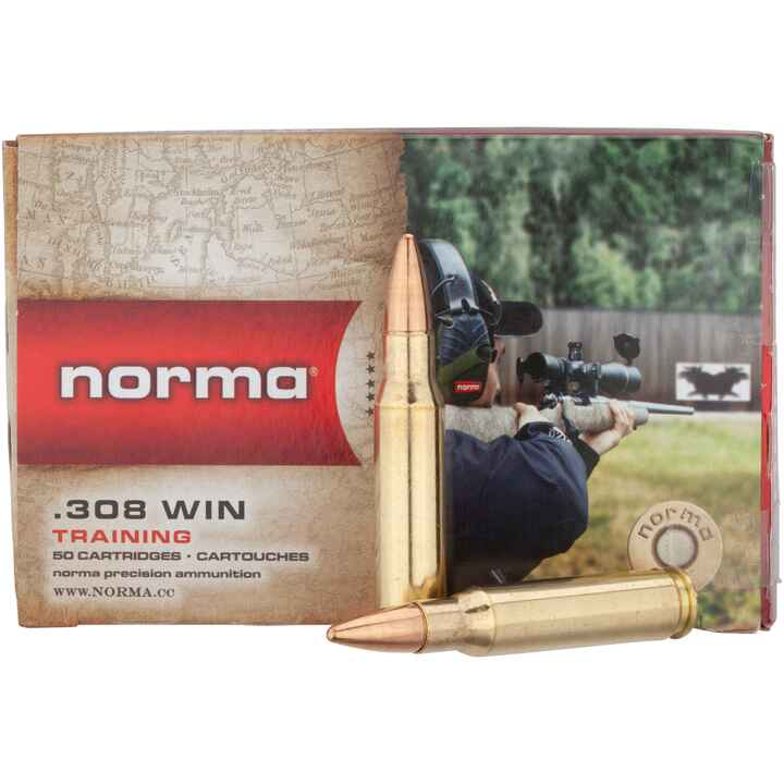 .308 Win. Vollm.-Jakt-Match 150 grs., Norma