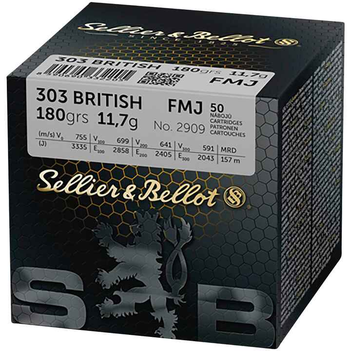 .303 British Vollmantel 180 grs., Sellier & Bellot