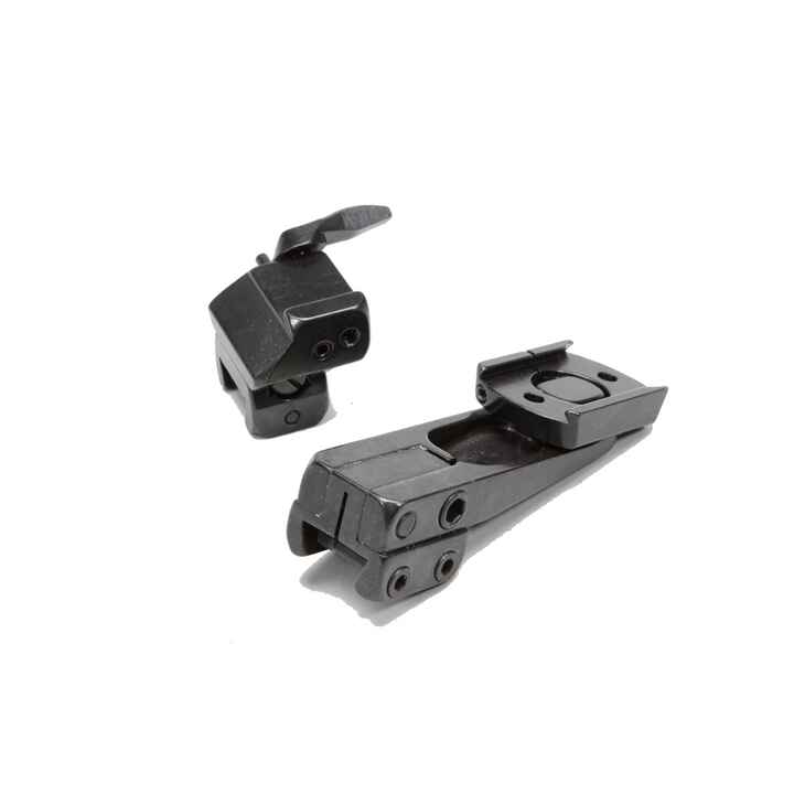 Pivot mounts (2-pc.) with dovetails, EAW