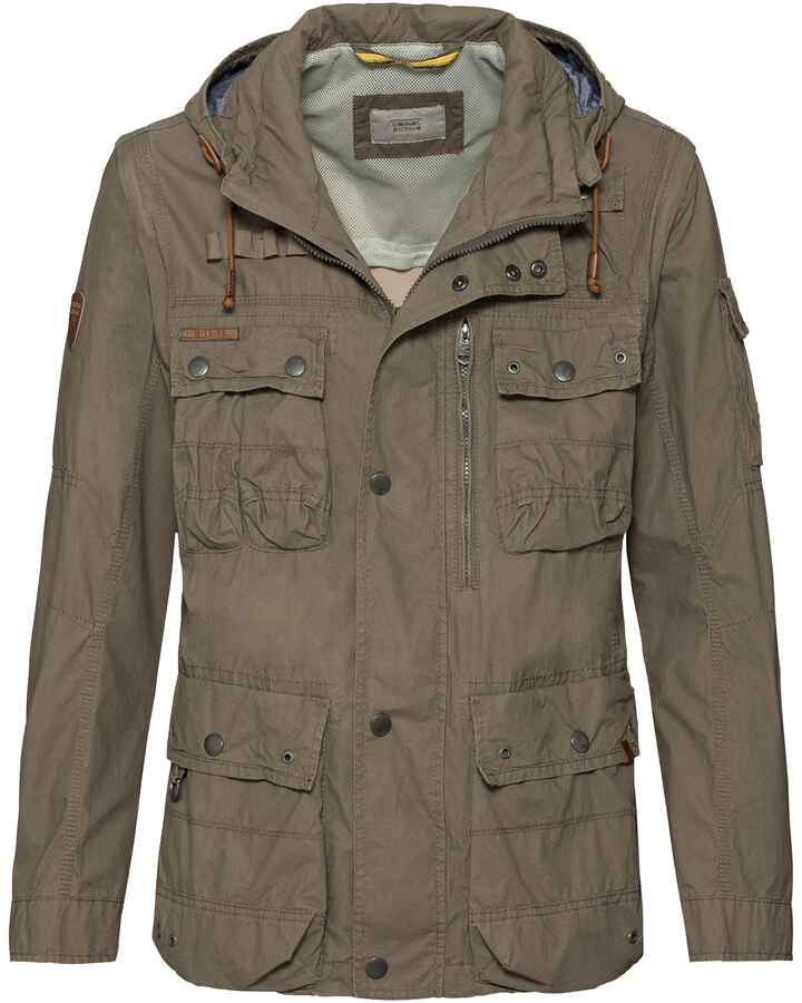 Fieldjacket mit Zip-Off Ärmel, camel active