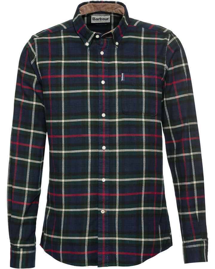 Flanellhemd Highland Check 19 Tailored, Barbour