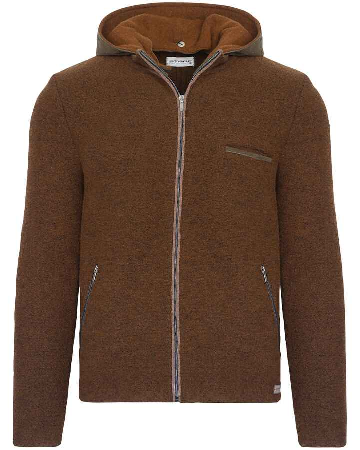 Linksstrickjacke David Lambswool, Stapf