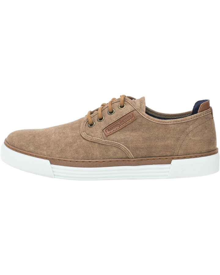 Canvas-Sneaker Racket, camel active