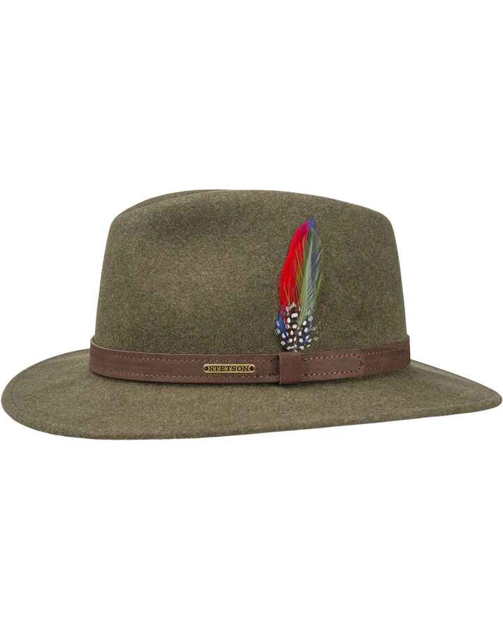 Hut Traveller Wool Felt, Stetson
