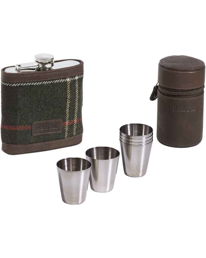 Set: Flachmann & Becher Classic Tartan, Barbour