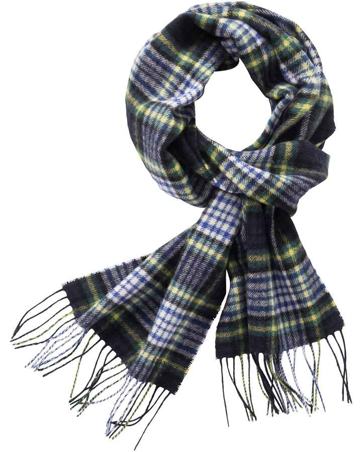 Lambswool-Schal Icons Tartan, Barbour