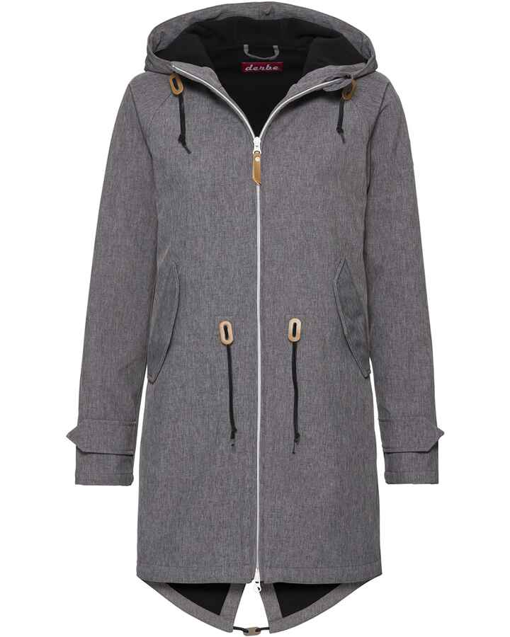 Softshellparka Island Friese, Derbe