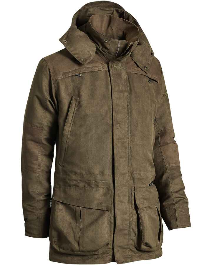 Damen Jacke Pro Wood Action GTX, Chevalier
