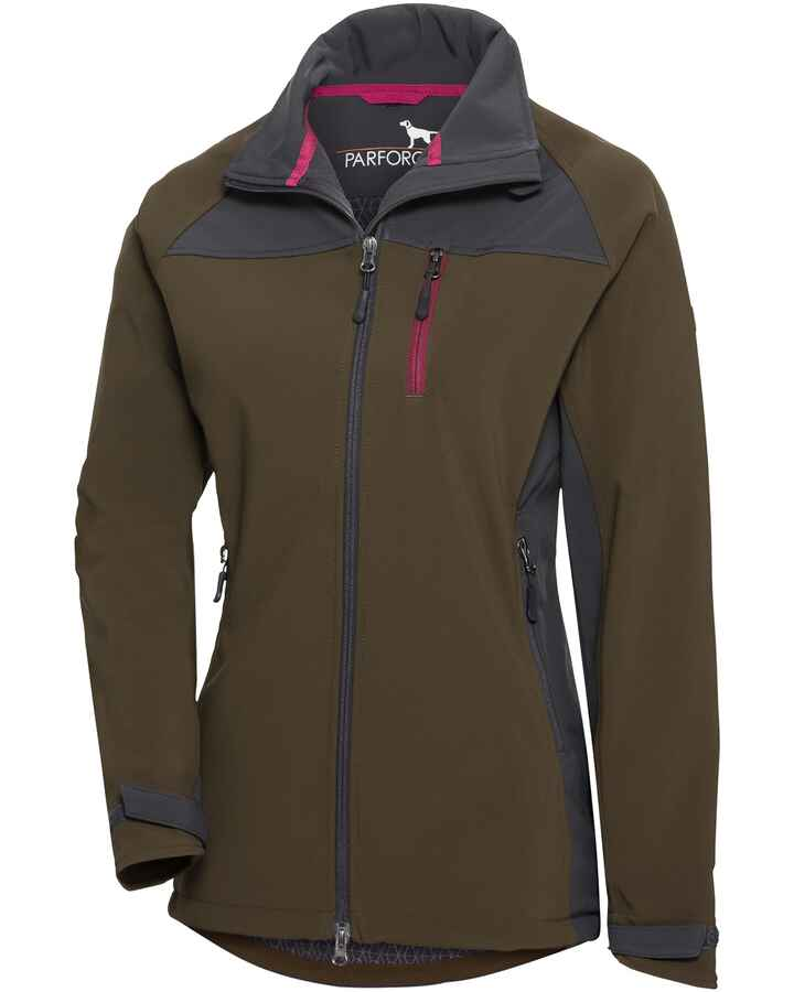 Damen Softshelljacke All-Year-Shell, Parforce