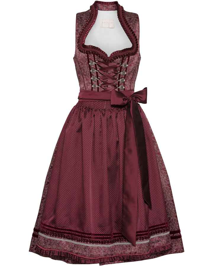 Midi Jacquard-Dirndl Anina, Krüger Collection