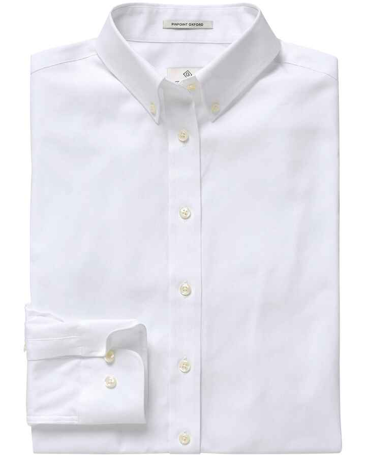 Pinpoint Oxford-Bluse, Gant