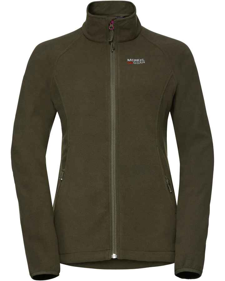Damen Base Fleecejacket, Merkel Gear