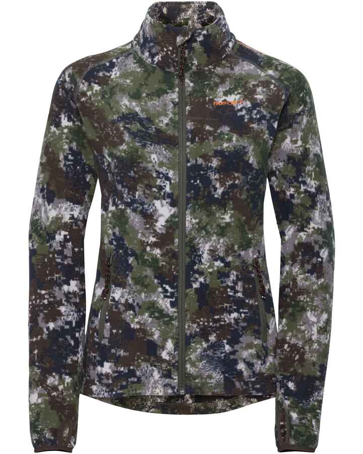 Damen Fleecejacke Tecl-Wood®, Parforce