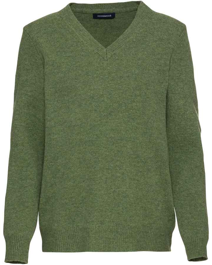 V-Pullover aus Lambswool, HIGHMOOR