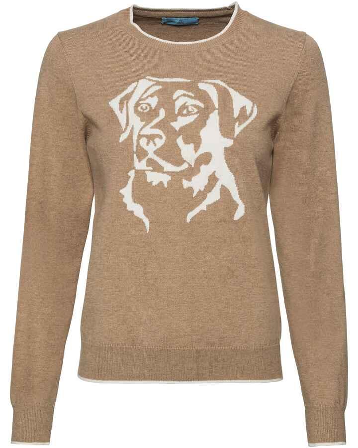 47d7e9be07d16c Pullover mit Hundemotiv