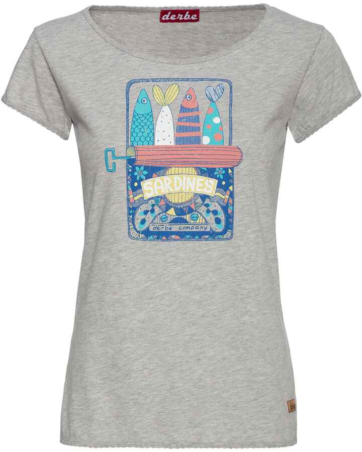 T-Shirt Sardines, Derbe