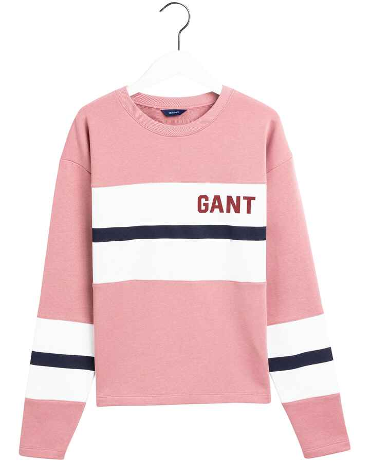 Sweatpullover Graphic Block Stripe, Gant