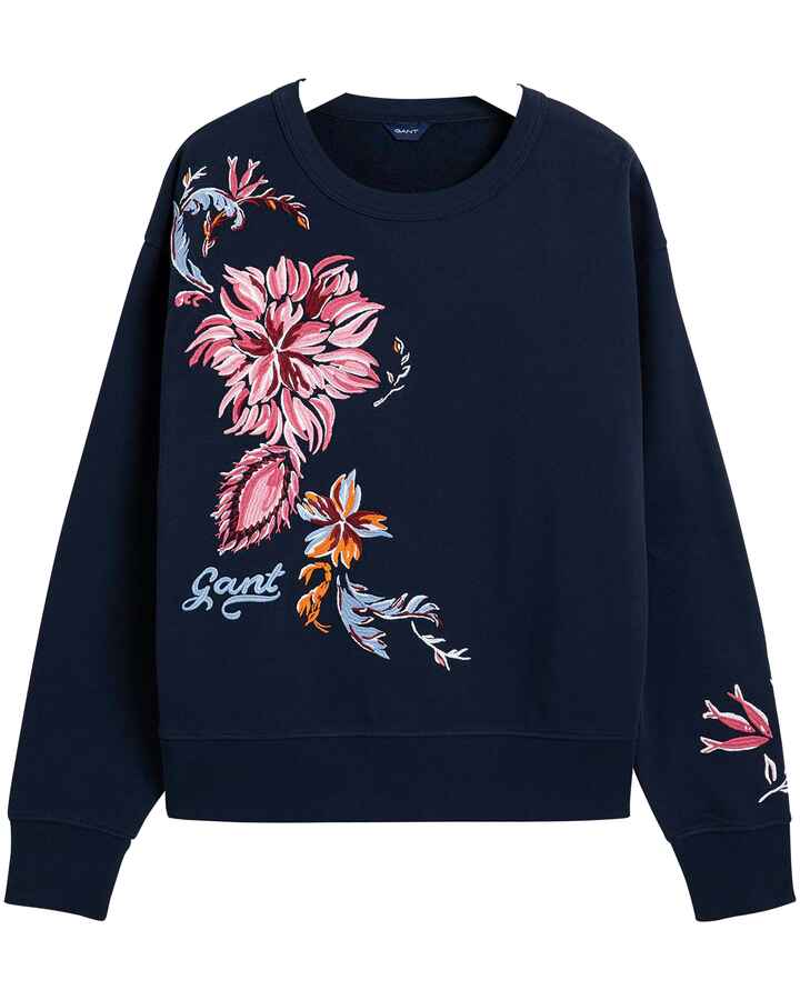 Sweatshirt mit Stickerei, Gant