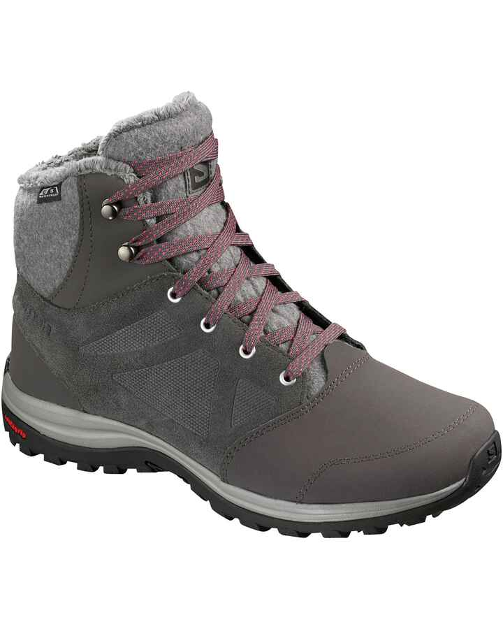 Damen Winterstiefel Ellipse Freeze CS WP grau, Salomon