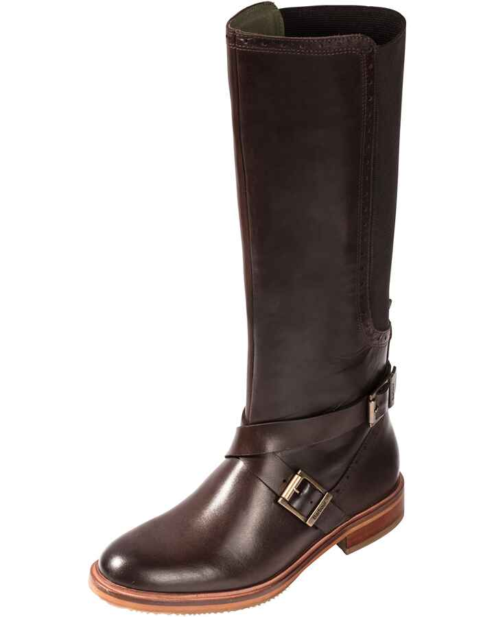 Lederstiefel Mary, Barbour