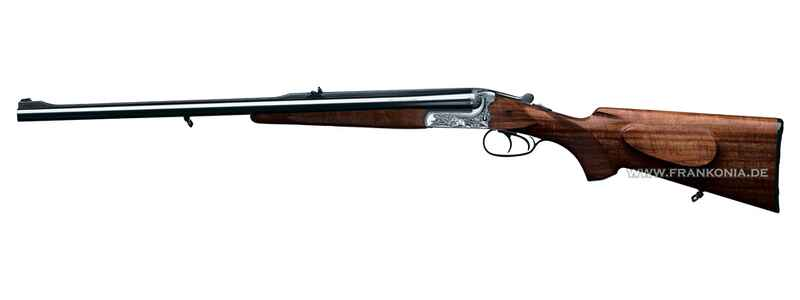 Double rifle 140, single trigger without set trigger, with hunting engraving, Merkel