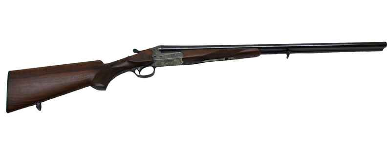 40E PM side-by-side shotgun with hunting engraving, Merkel
